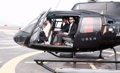 Uber'den helikopter hizmeti