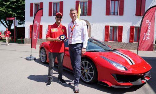Vettel'e nazar boncuğu