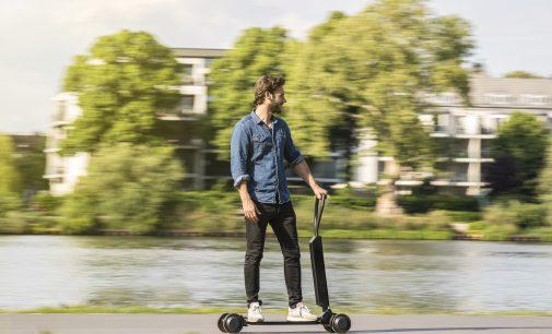 20 km menzilli e-scooter