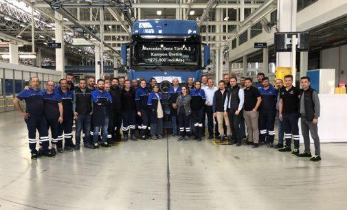 275 bininci yerli Mercedes kamyon