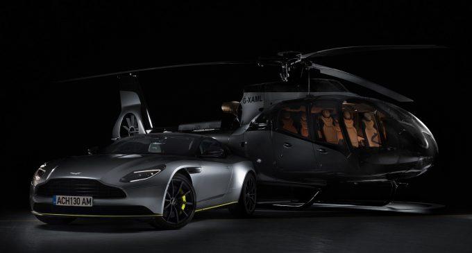 Aston Martin'in lüks helikopteri