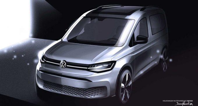 VW, Caddy'nin ipuçlarını verdi