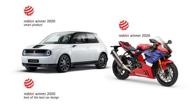 Honda'ya Red Dot'tan üç ödül