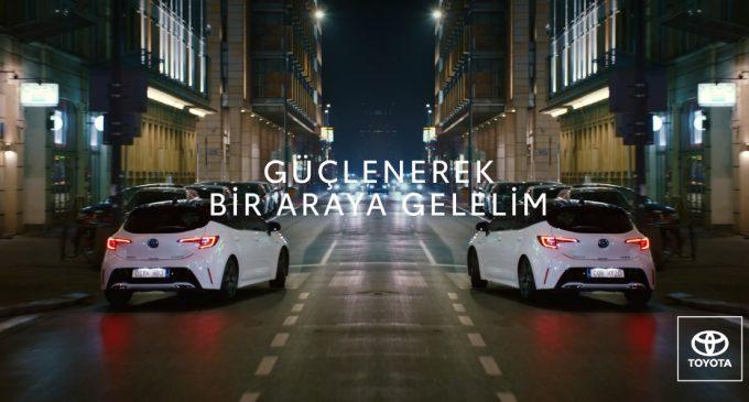 Toyota'dan #evdekal reklam filmi