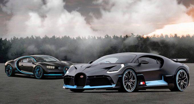 Salgın Bugatti'ye vız geldi