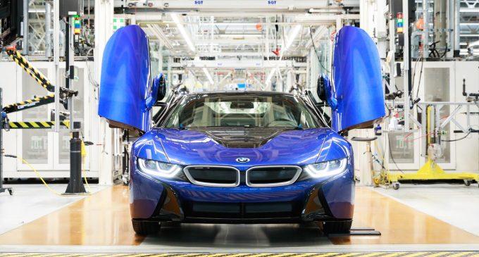 BMW i8 üretime veda etti