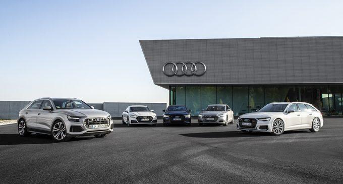 Stoktaki Audi'lere tek tuşla ulaşılıyor