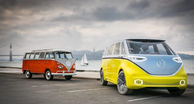 Elektrikli minibüsle Samba yapacak