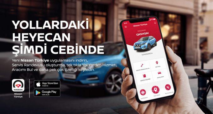 Nissan'ın mobil uygulaması devrede