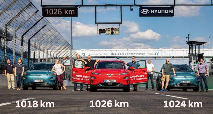 1.026 km ile menzil rekoru kırdı