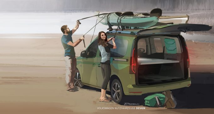 Salgına özel mobil ev temalı Caddy