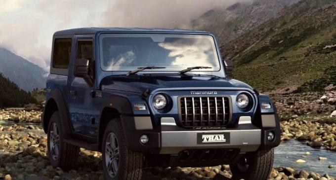 Mahindra'dan çakma Jeep Wrangler