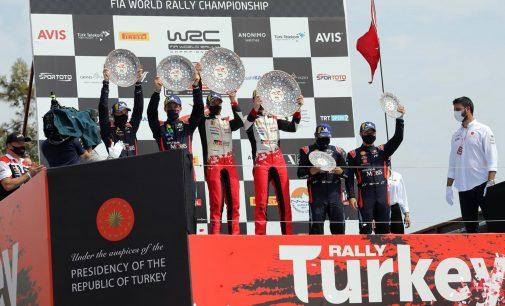 WRC Türkiye Rallisi'ni Evans kazandı