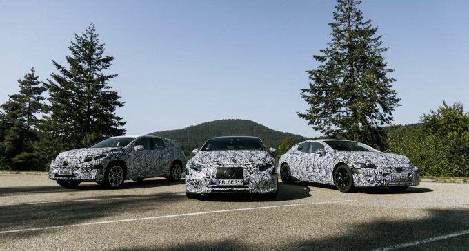 Mercedes'ten 6 yeni elektrikli daha