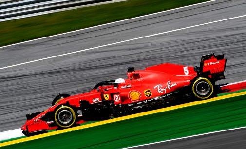 Ferrari'nin yakıtı otomobil deposunda