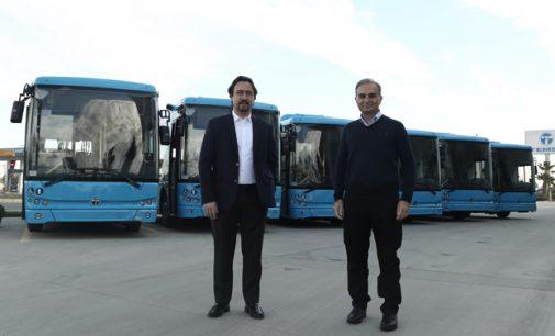İlk elektrikli otobüs ihracatı