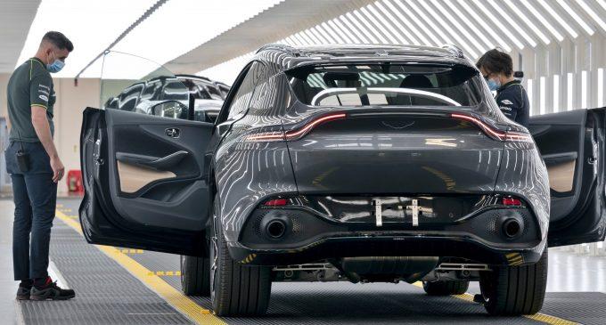 Aston Martin'e Mercedes imzası