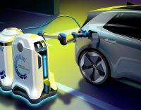 Elektriklileri robotlar şarj edecek