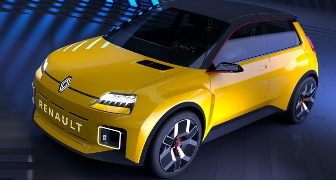 Renault'dan yeni elektrikli platform