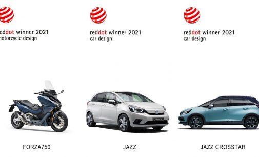 Red Dot'tan Honda'ya üç  ödül