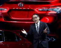 Toyota Başkanı'na elektrikli tepkisi