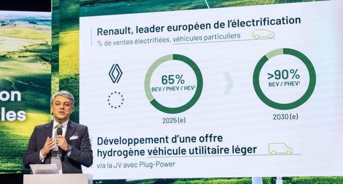 Renault'nun yeni elektrikli planı