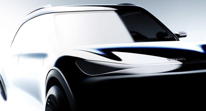 Elektrikli Smart SUV'da geri sayım
