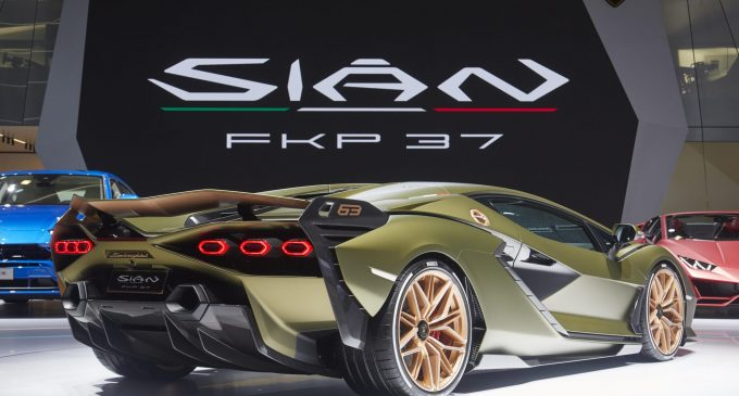 Lamborghini elektrikleniyor