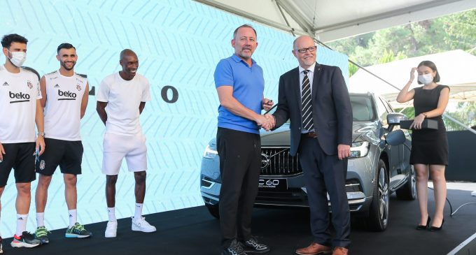 Beşiktaş takımına elektrikli Volvo