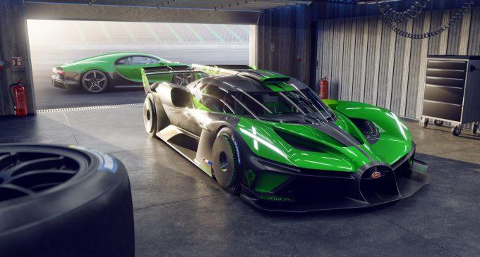 4 milyon euroluk Bugatti Bolide