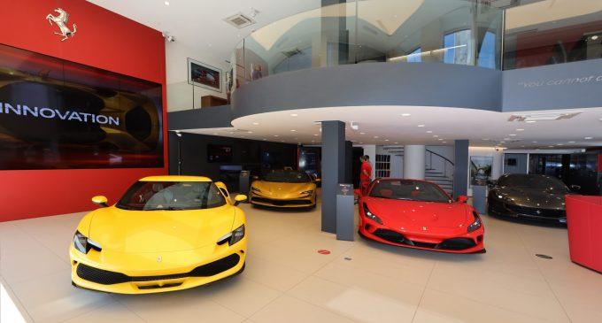 870 bin euroluk Ferrari'ye 7 sipariş