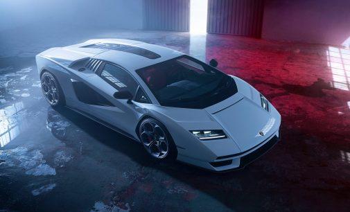 Lamborghini Countach geri döndü