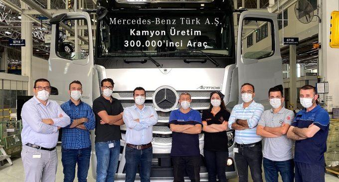 300 bininci Aksaraylı Mercedes