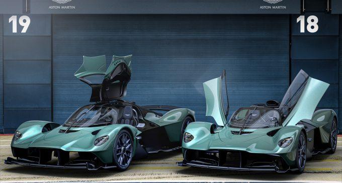 Aston Martin'den süper üstsüz