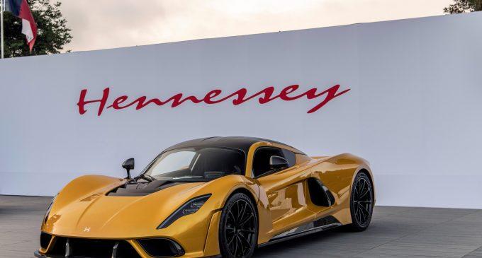 2.1 milyon $'lık Hennessey kapışıldı