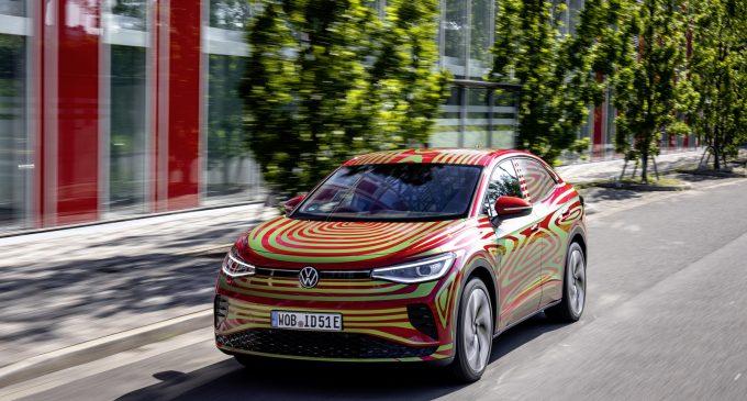 VW'nin sportif elektrikli SUV'u