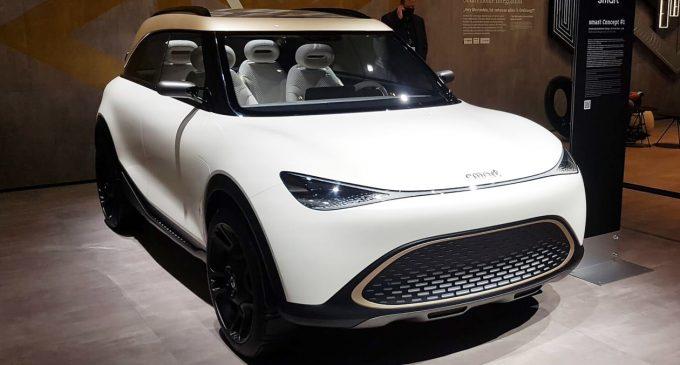 Smart'tan elektrikli SUV