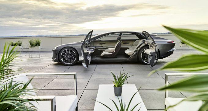 Geleceğin Audi'si grandsphere