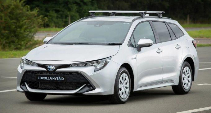 Toyota'dan ticari Corolla